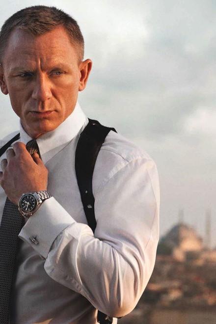 "Daniel Craig (James Bond) în ""Spectre"""