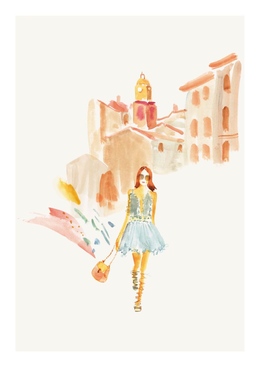 Saint-Tropez-illustrations